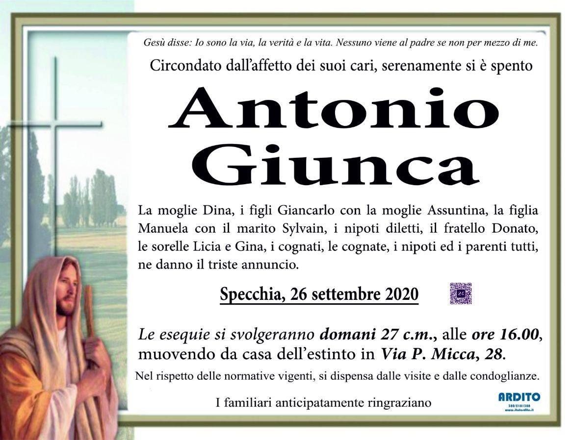 Antonio Maria Giunca
