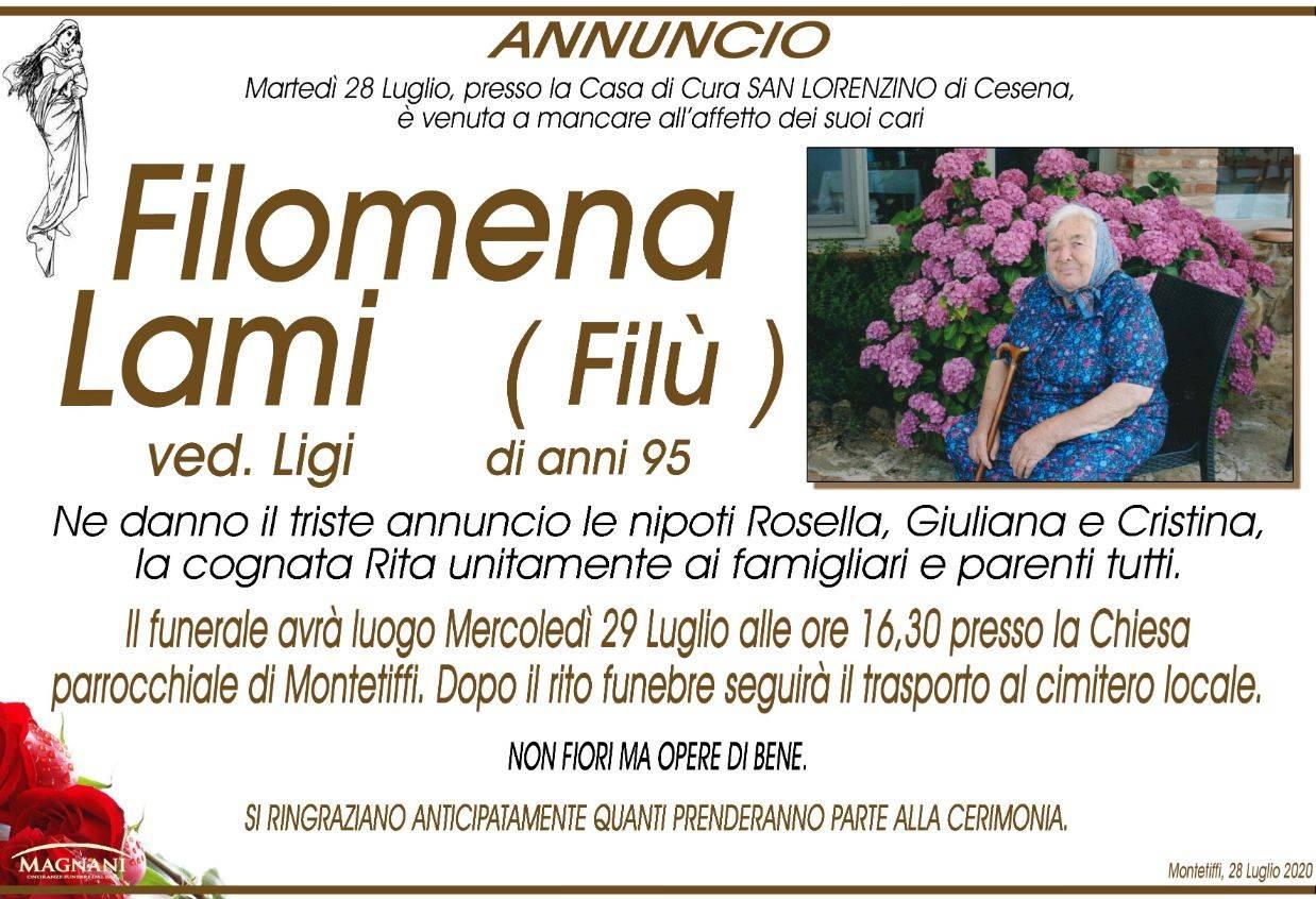 Filomena (Filù) Lami