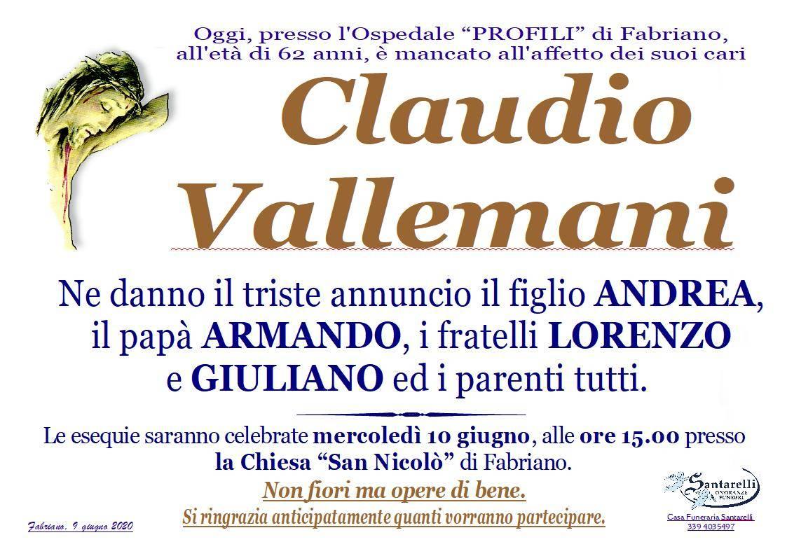 Claudio Vallemani