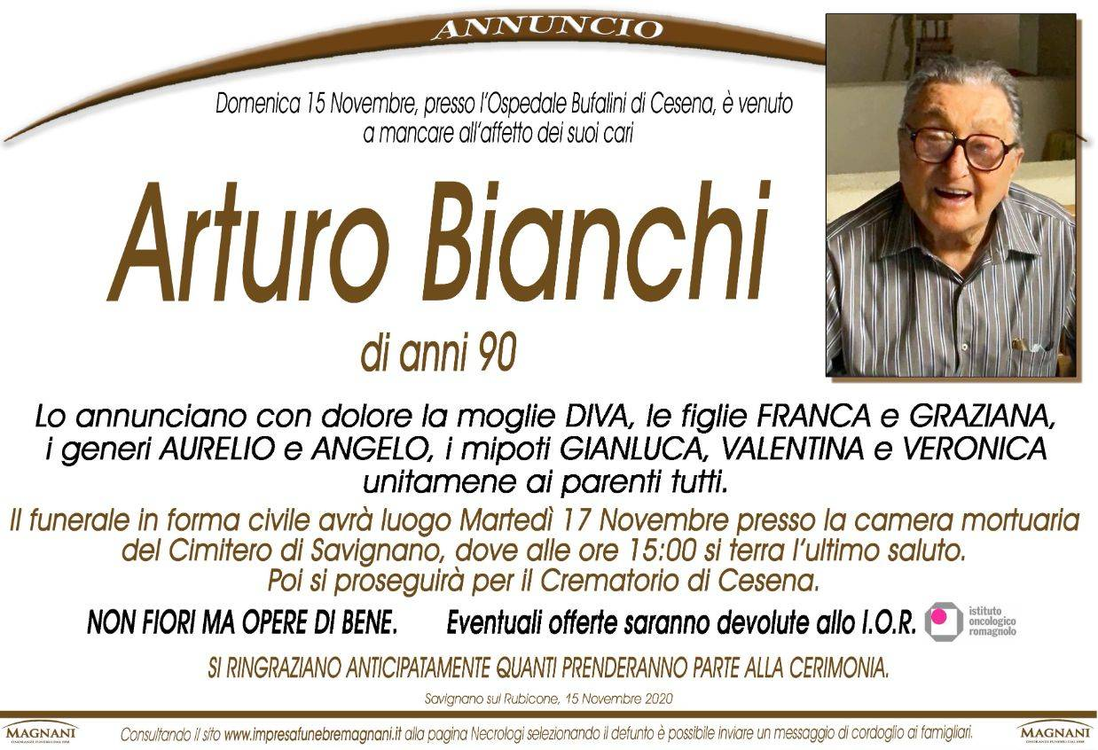 Arturo Bianchi