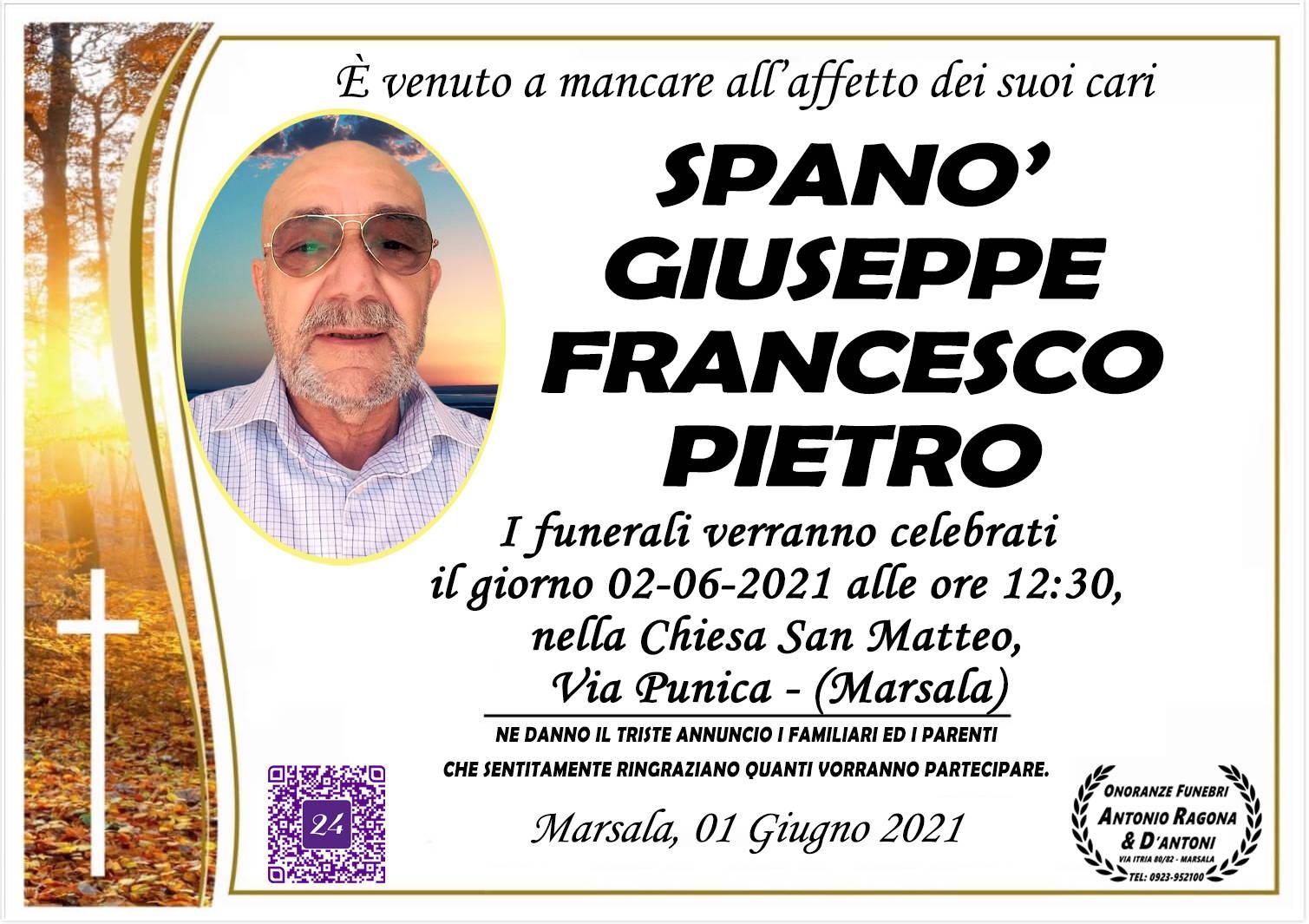 Giuseppe Francesco Pietro Spanò