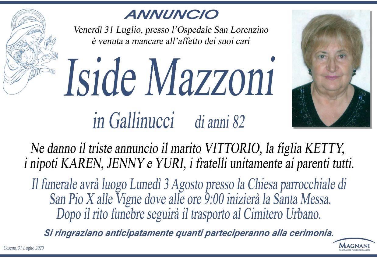 Iside Mazzoni