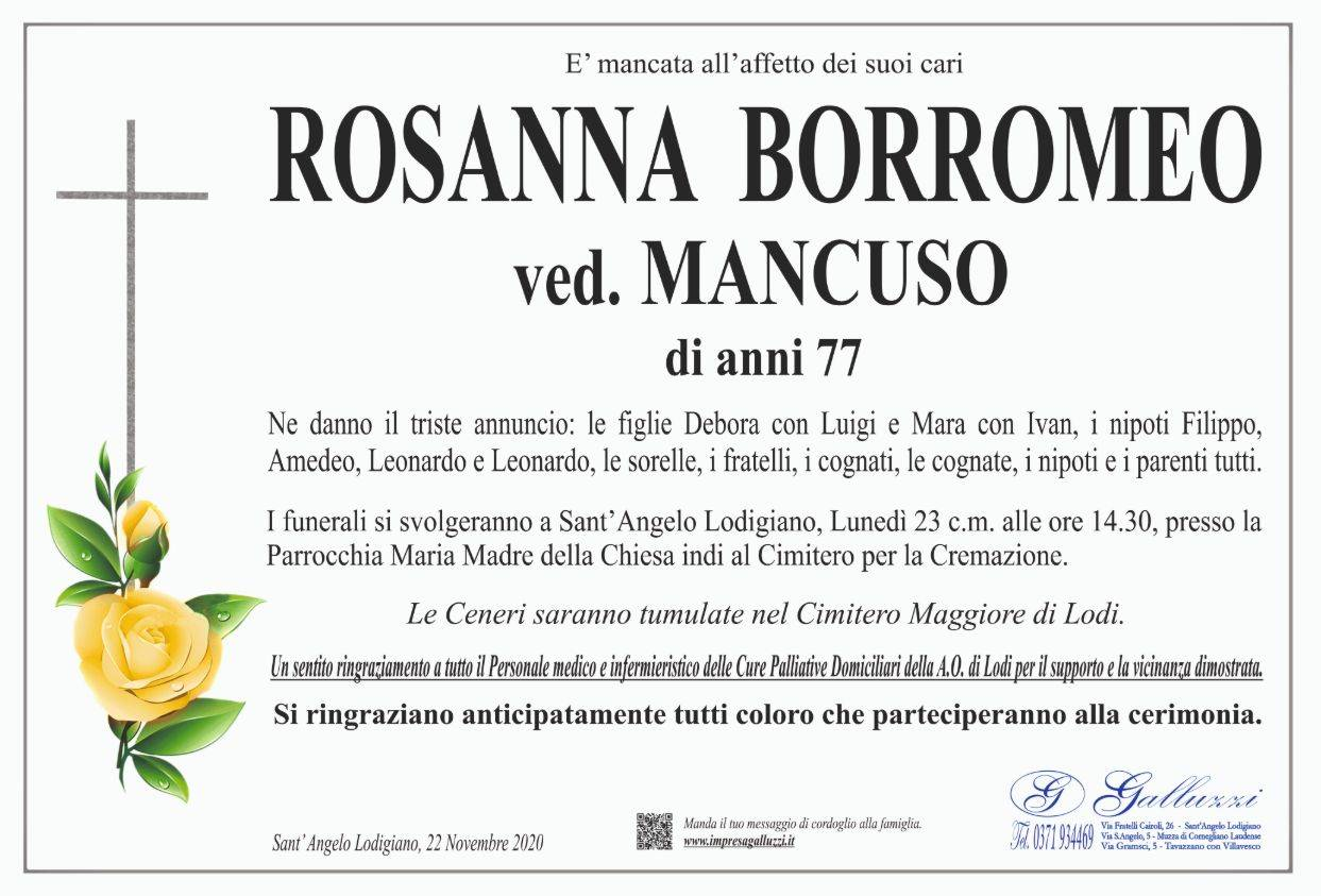 Rosanna Borromeo