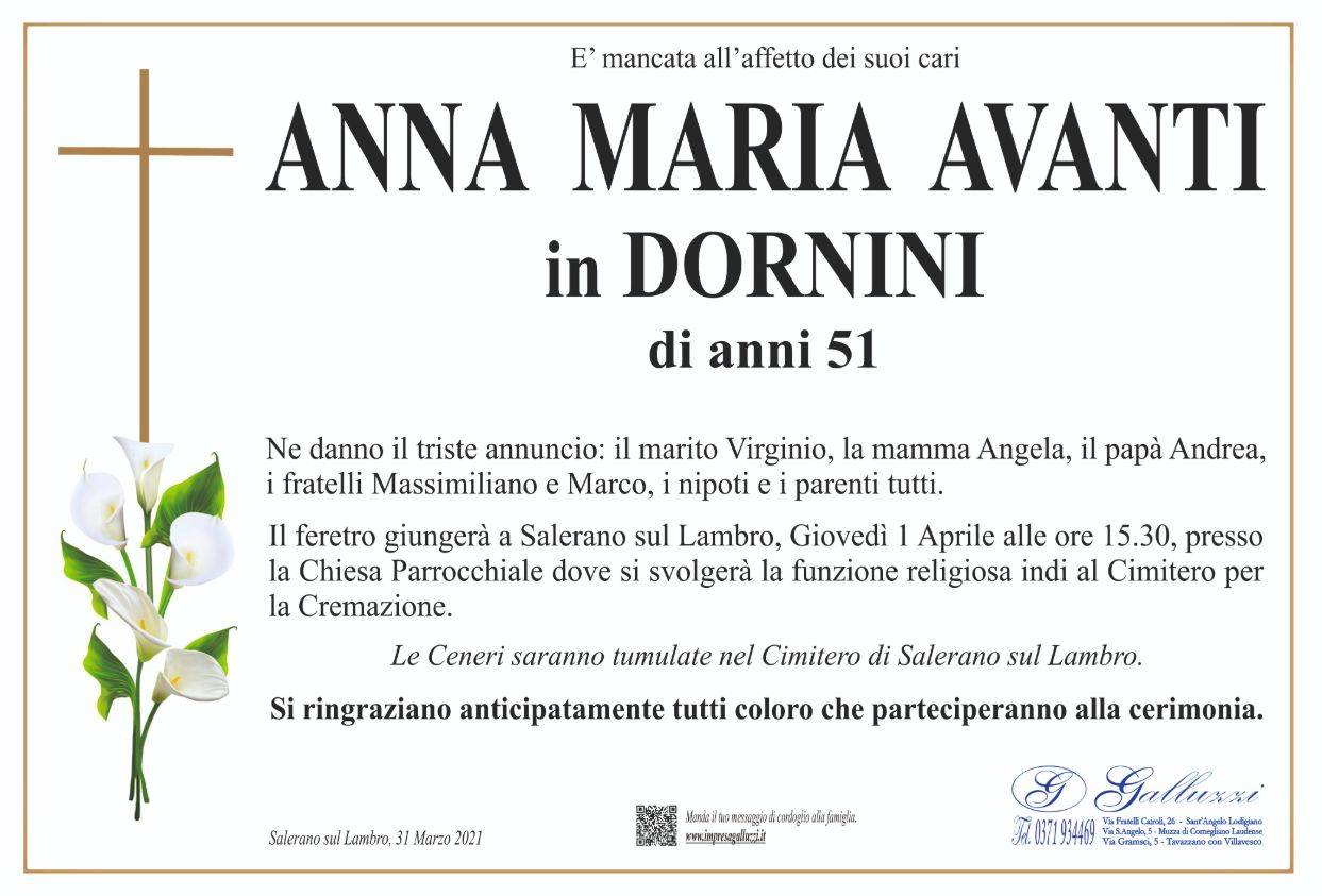 Anna Maria Avanti