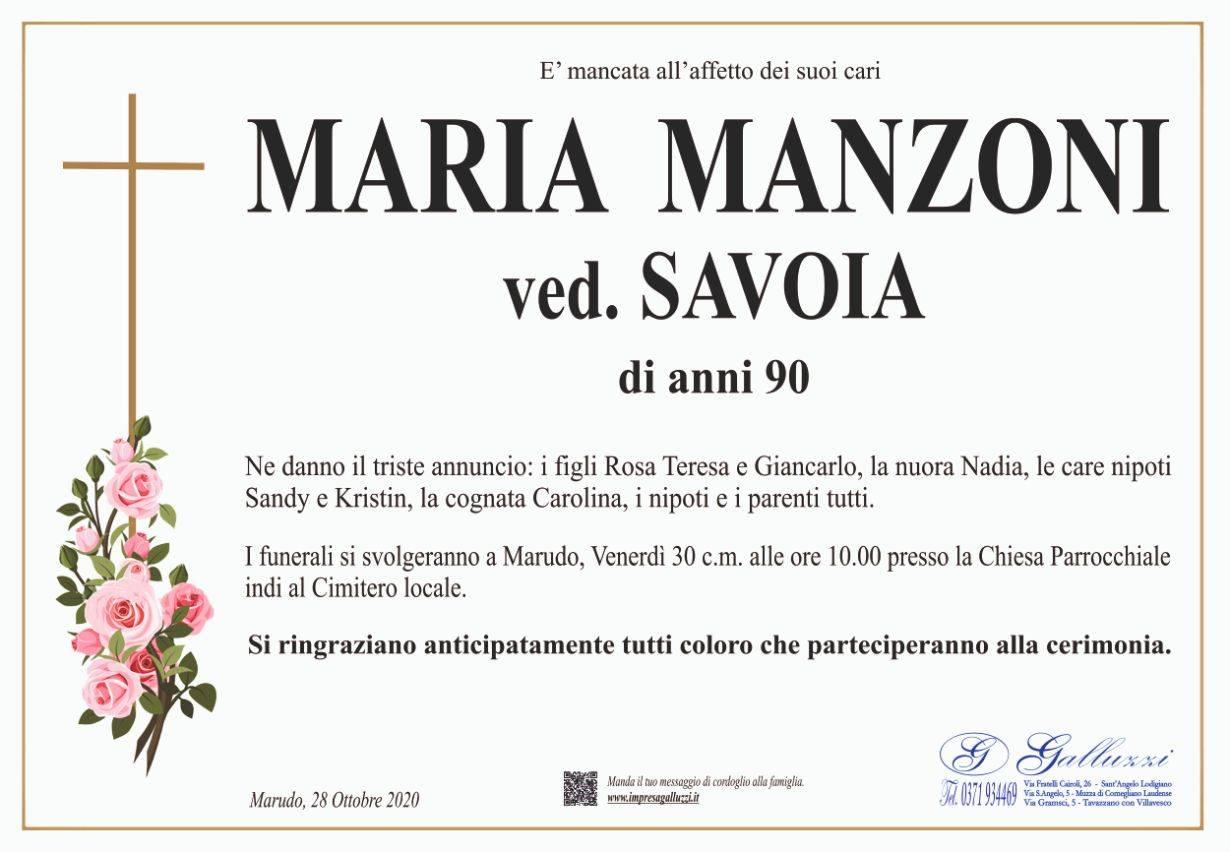 Maria Manzoni