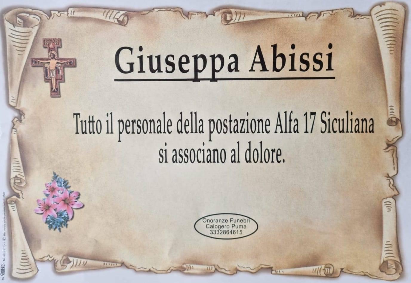 Giuseppa Abissi (P1)