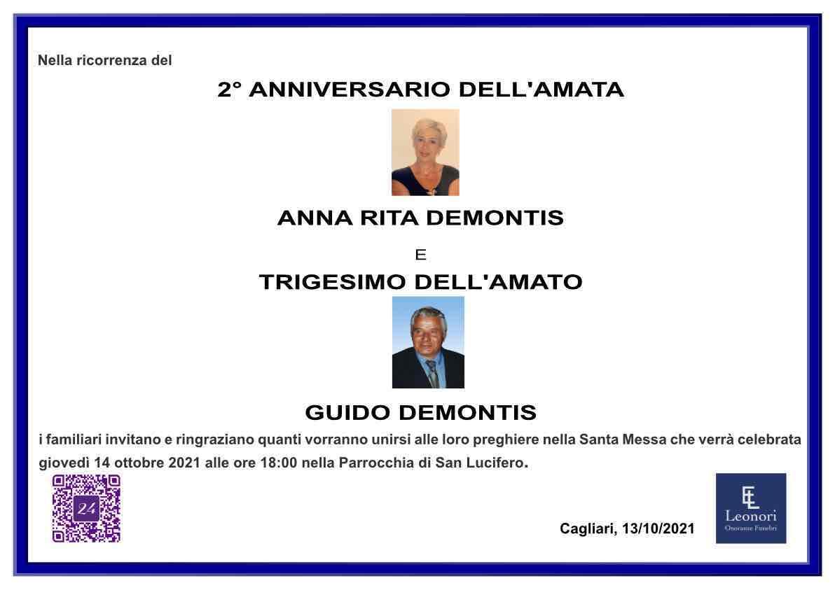Anna Rita Demontis e Guido Demontis