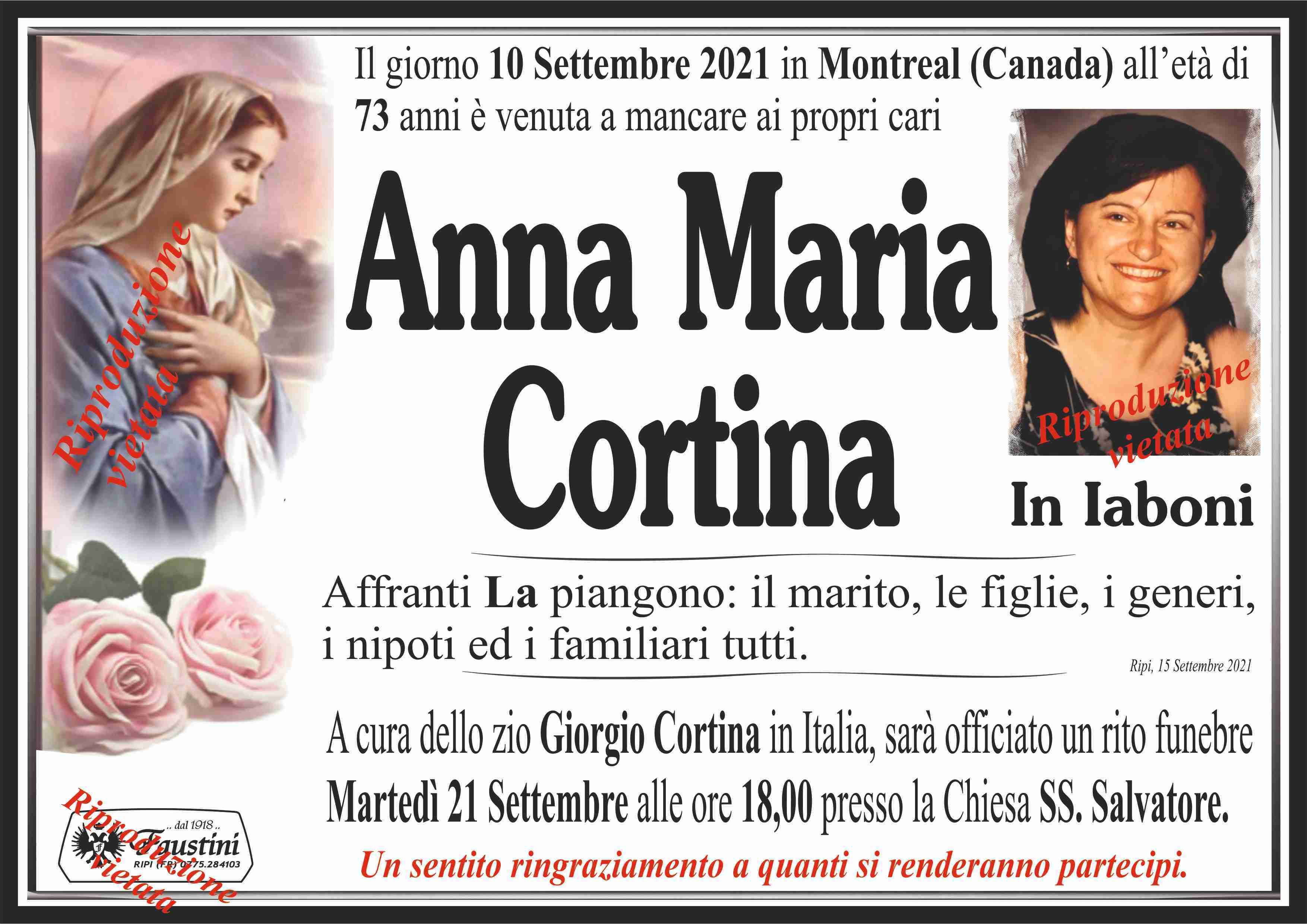 Anna Maria Cortina