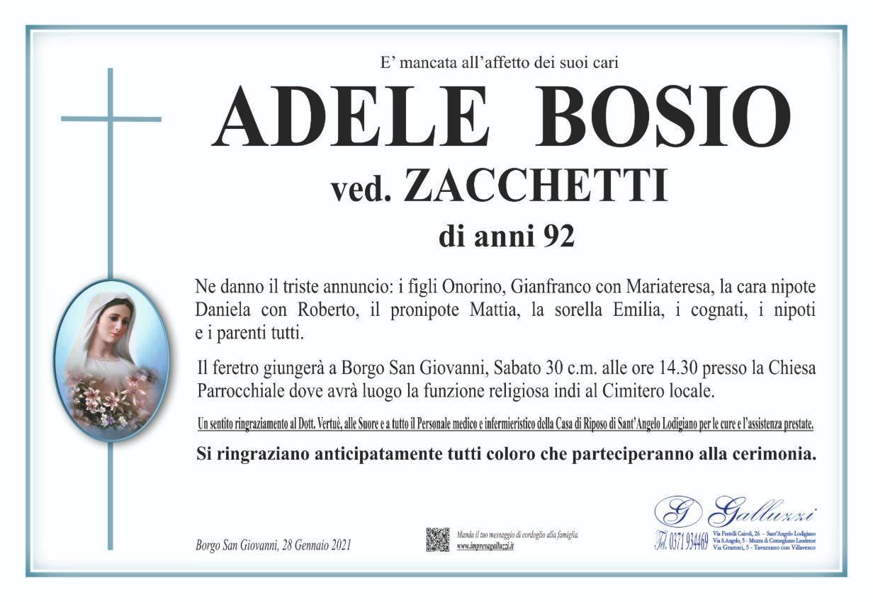 Adele Bosio