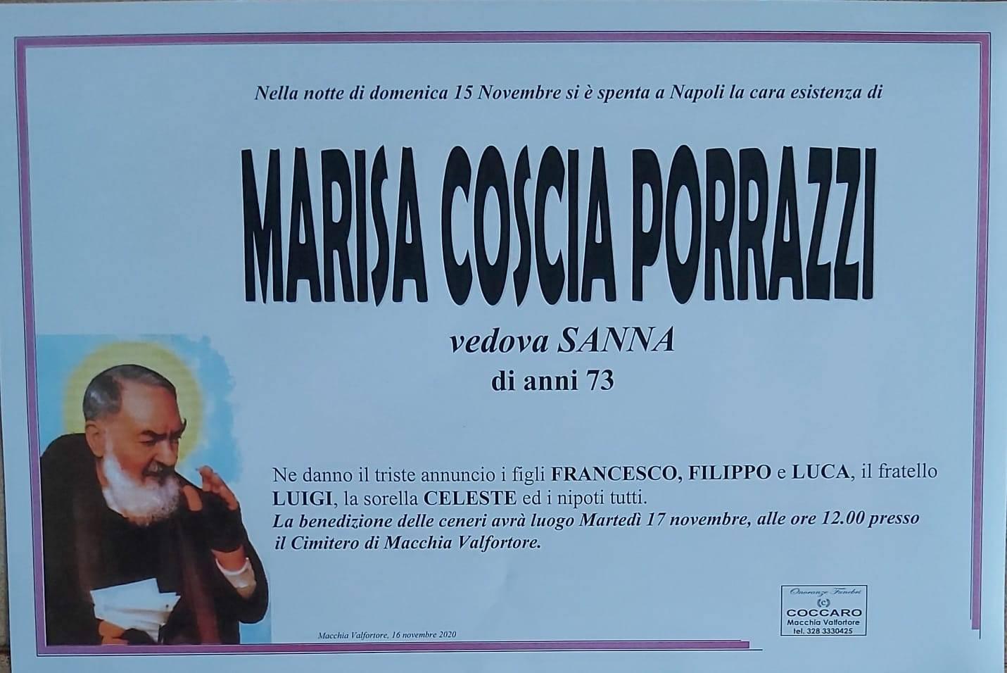 Marisa Coscia Porrazzi