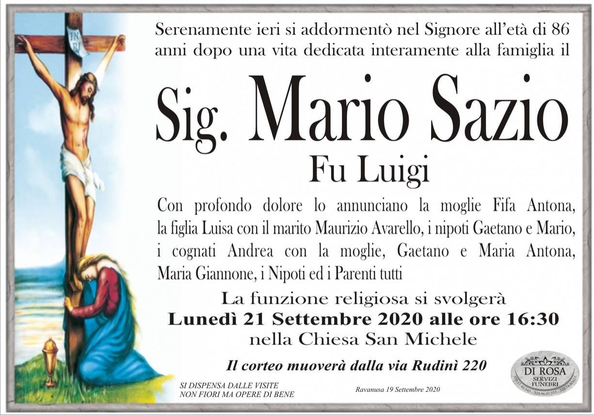 Mario Sazio