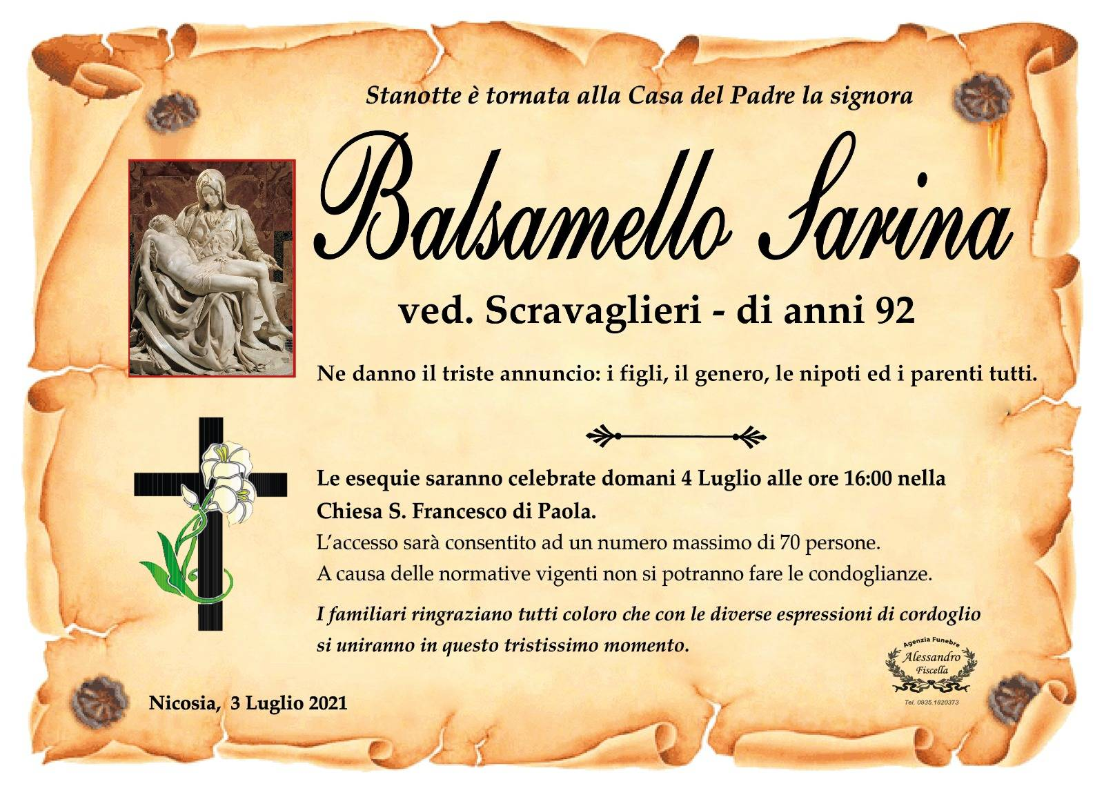 Sarina Balsamello