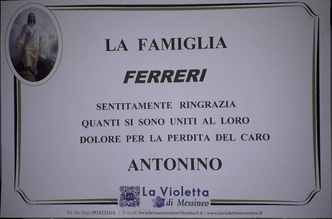 Antonino Ferreri