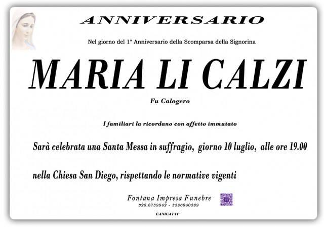 Maria Li Calzi
