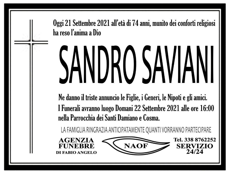Sandro Saviani