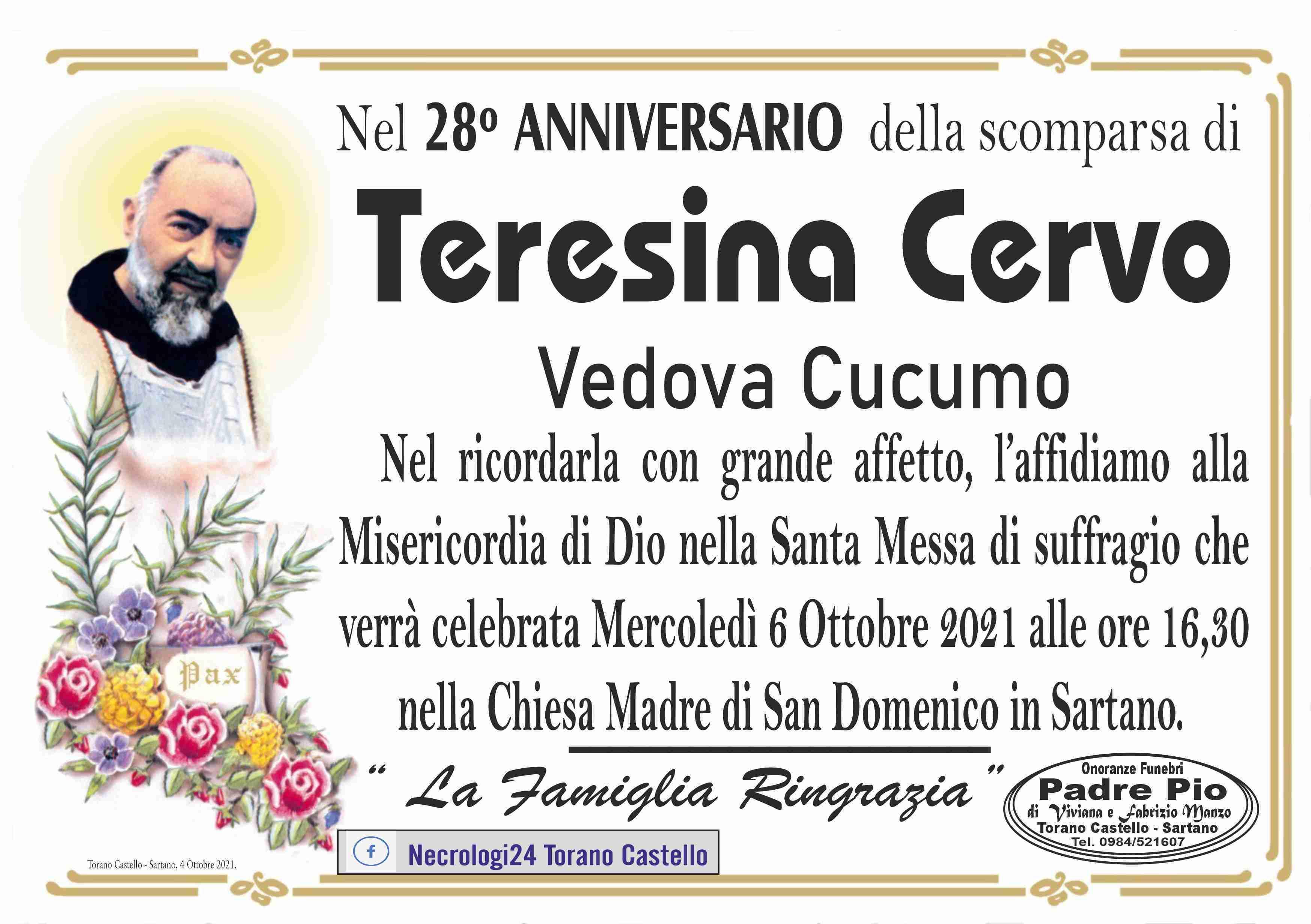 Teresina Cervo