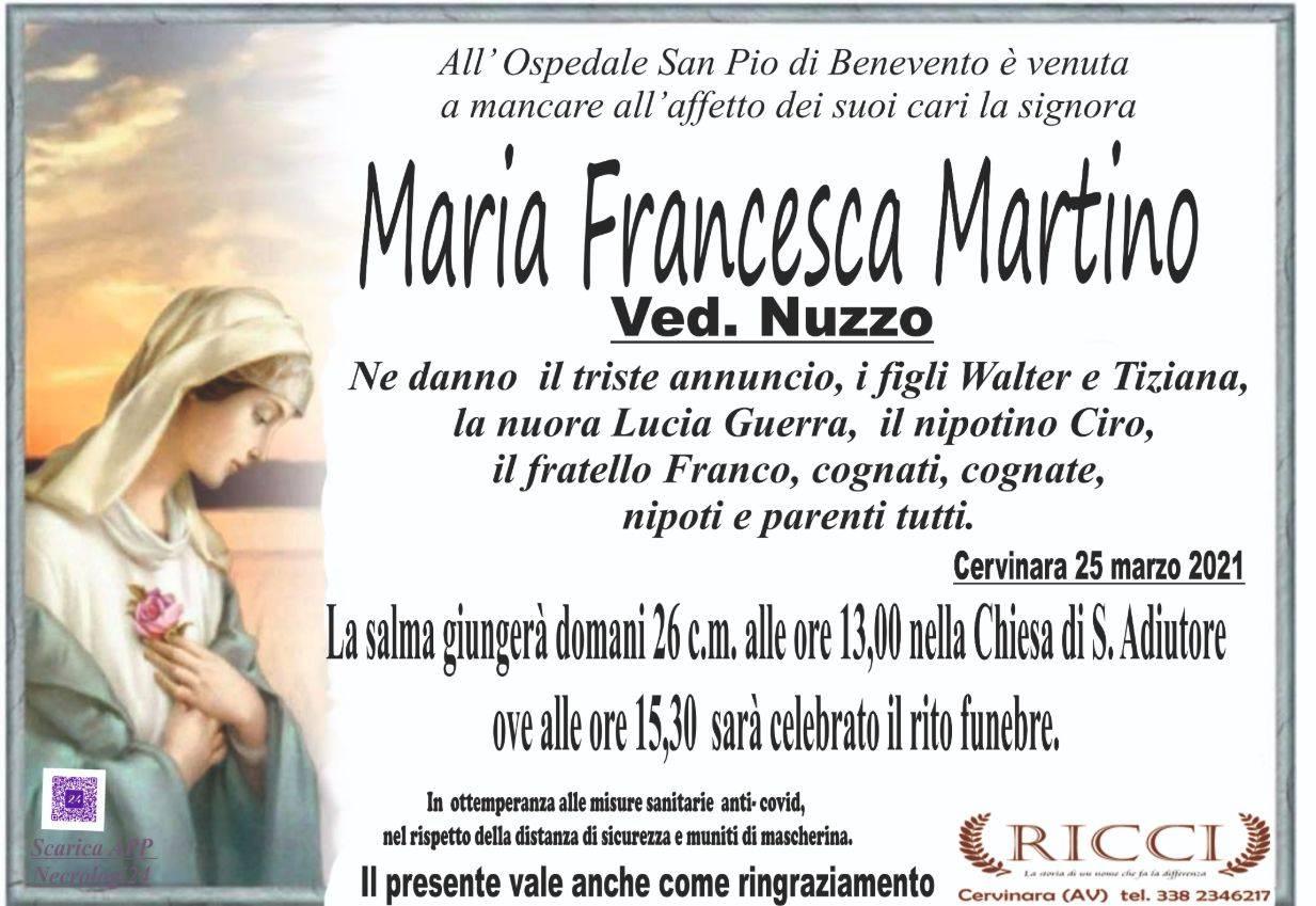Maria Francesca Martino