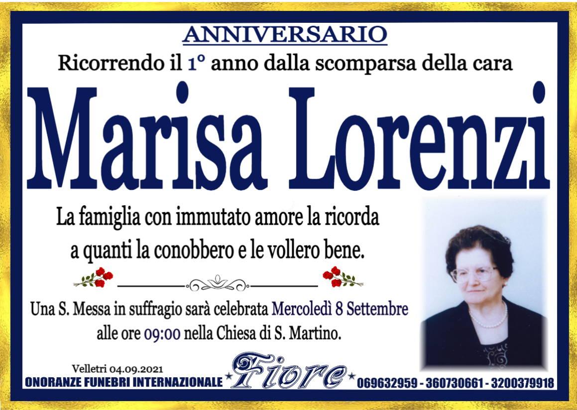 Marisa Lorenzi