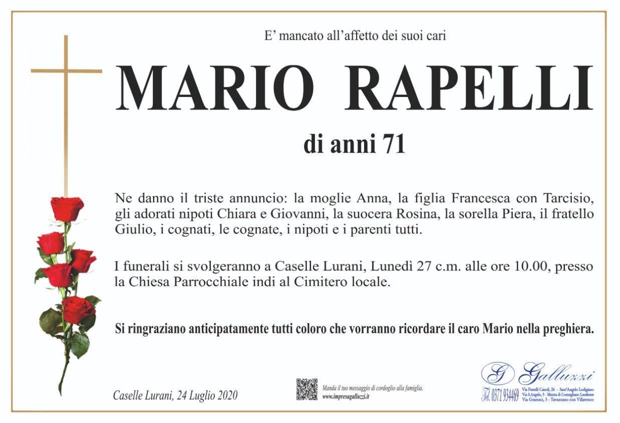 Mario Rapelli