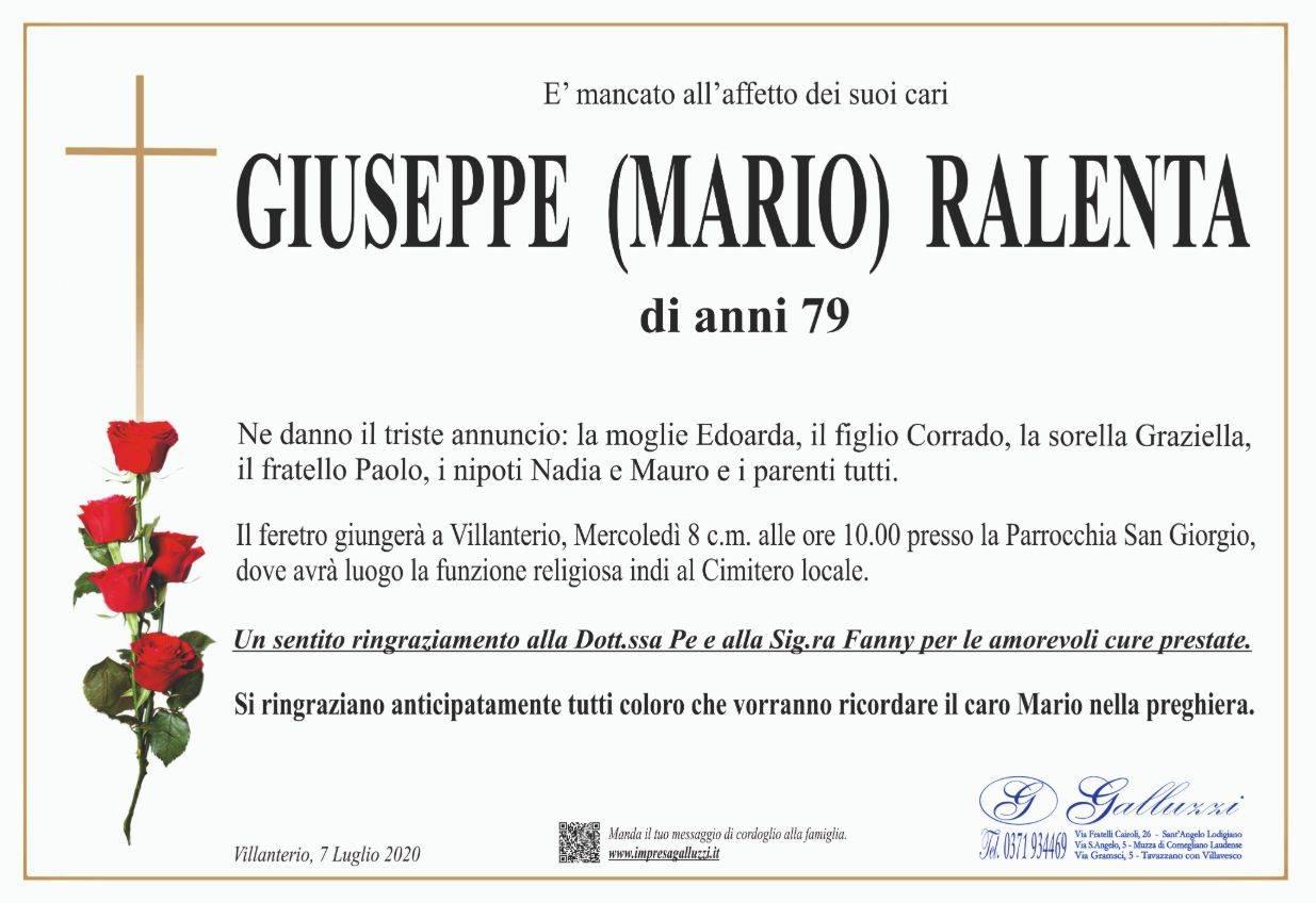 Giuseppe (Mario) Ralenta