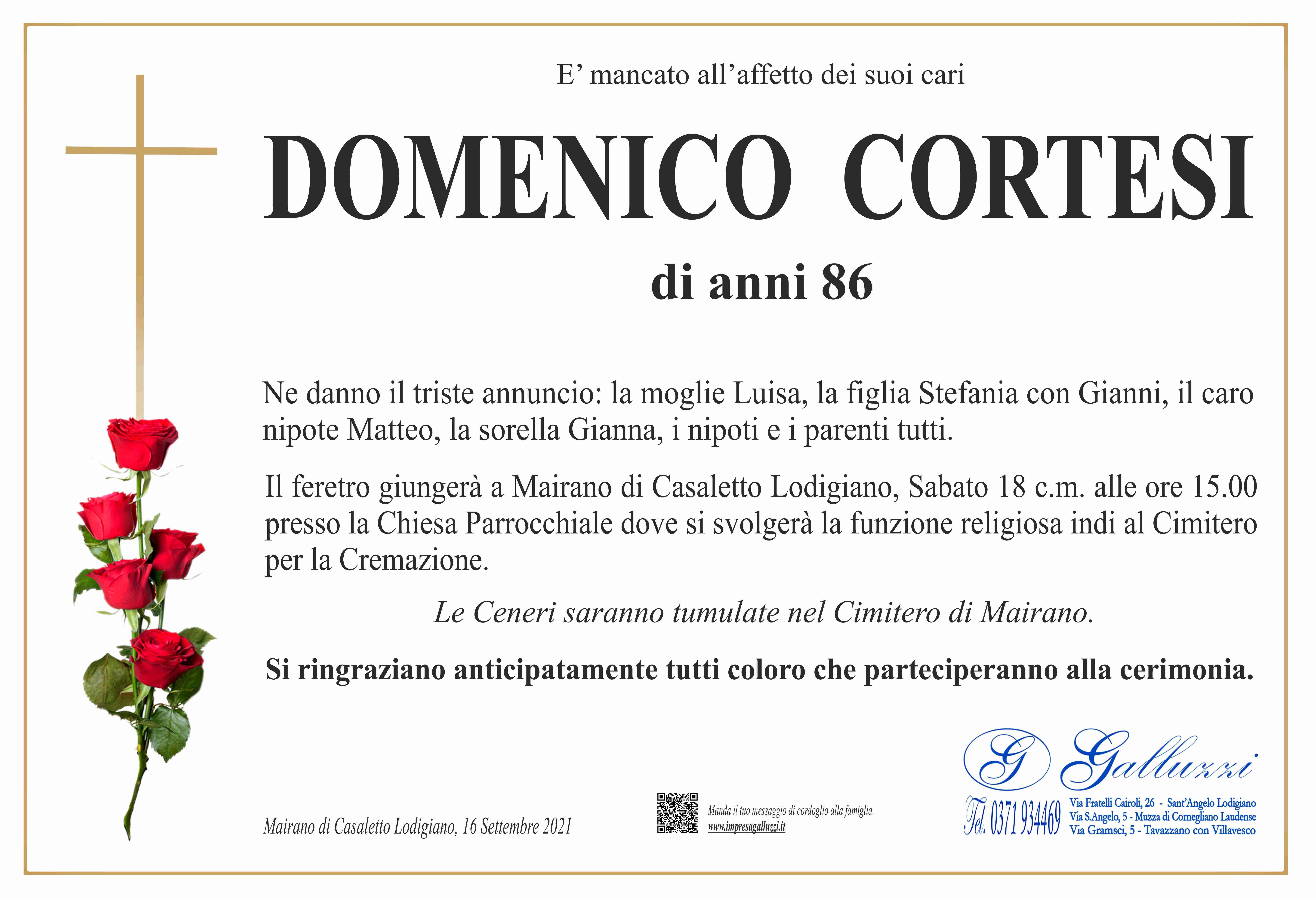 Domenico Cortesi