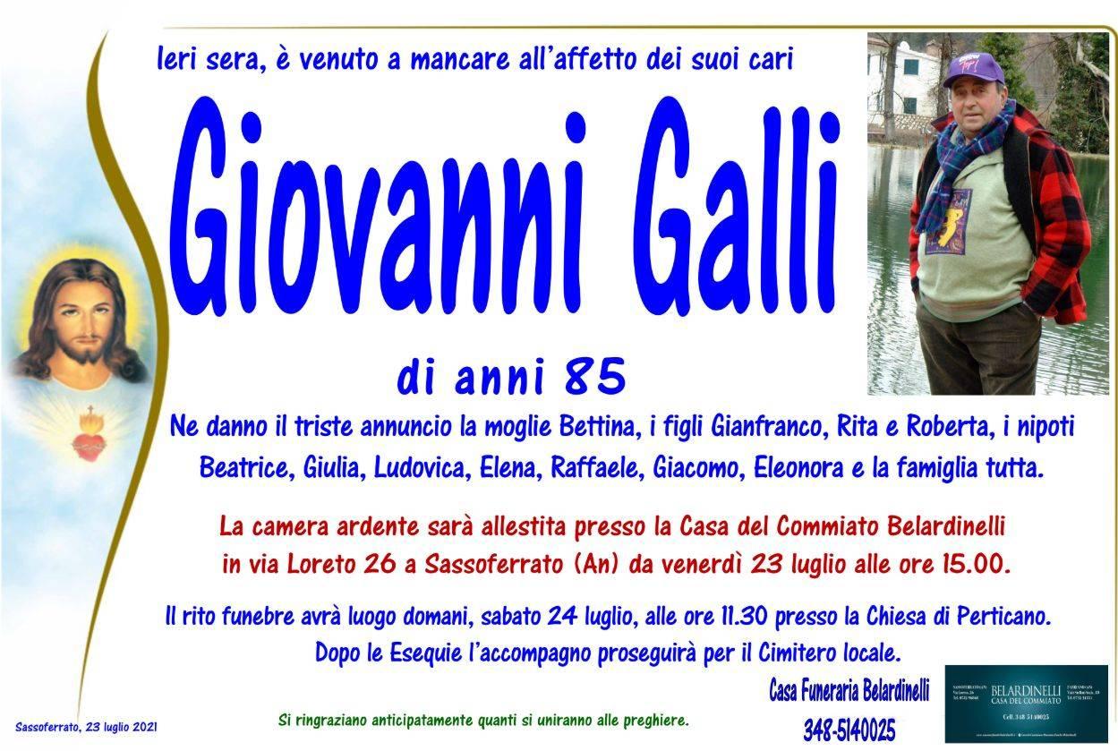 Giovanni Galli