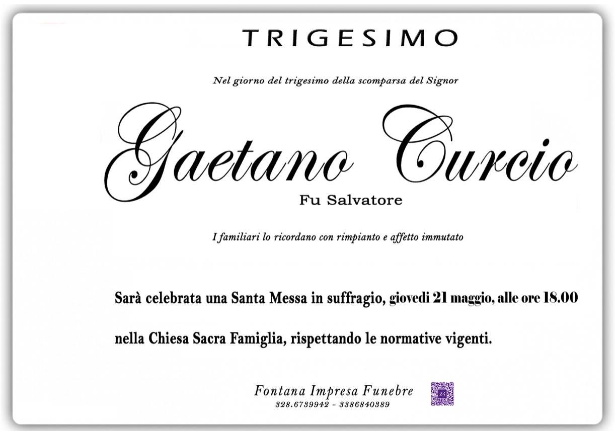 Gaetano Curcio