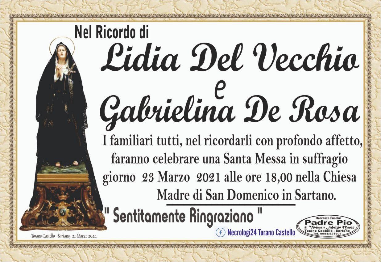 Lidia Del Vecchio e Gabrielina De Rosa