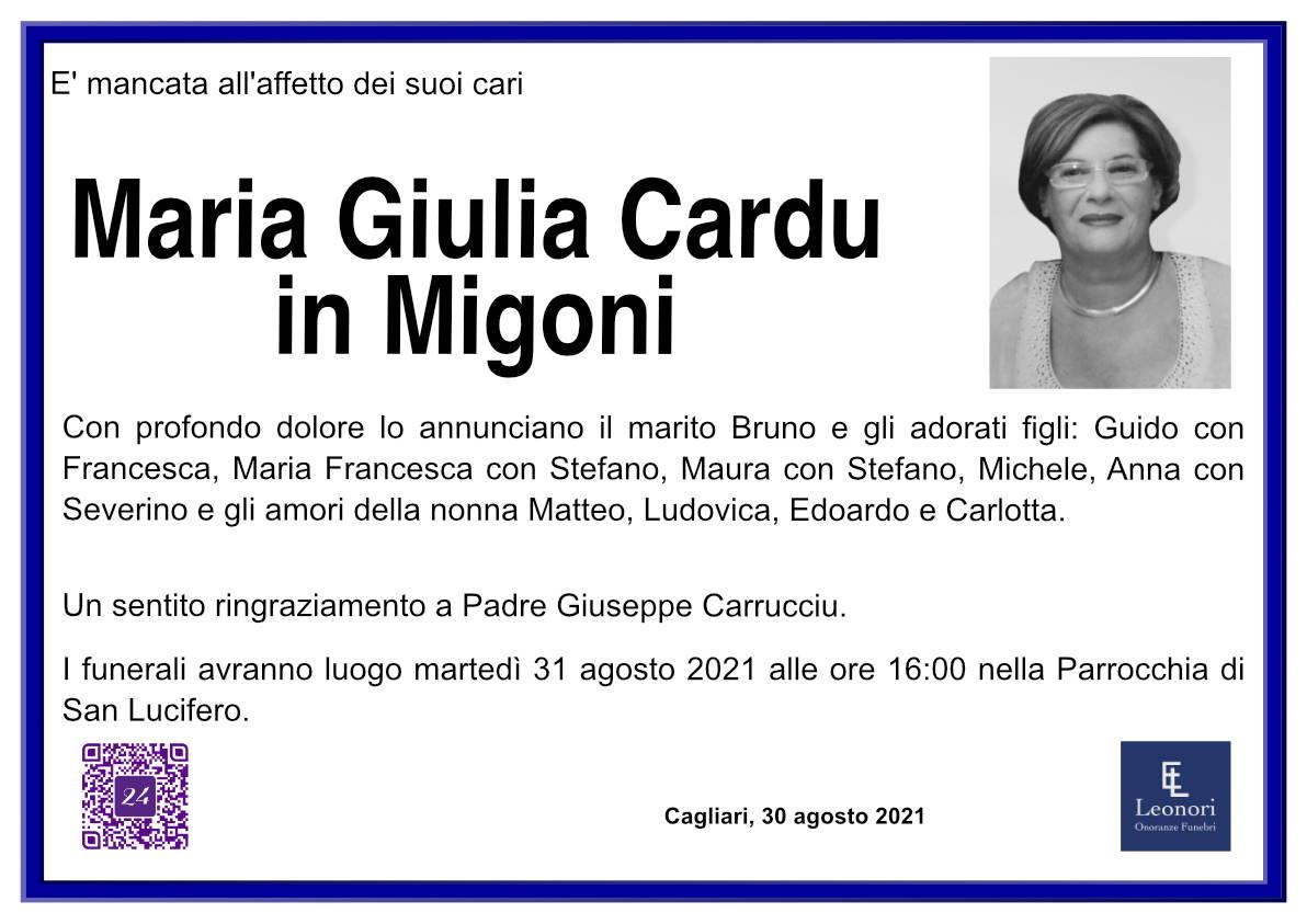 Maria Giulia Cardu