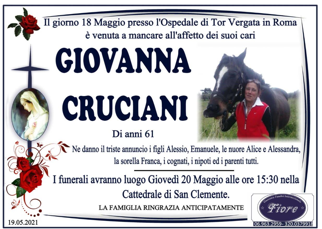 Giovanna Cruciani