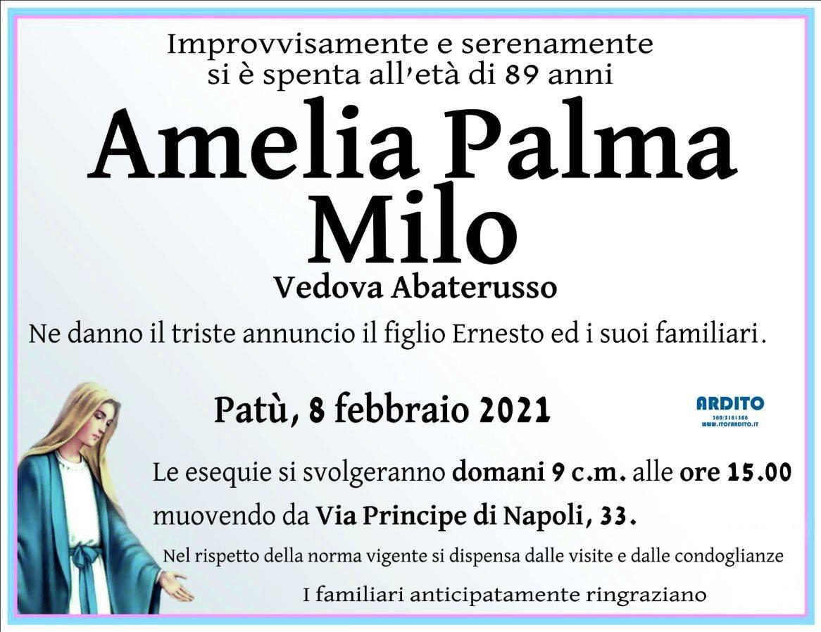 Amelia Palma Milo