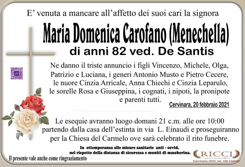 Maria Domenica Carofano