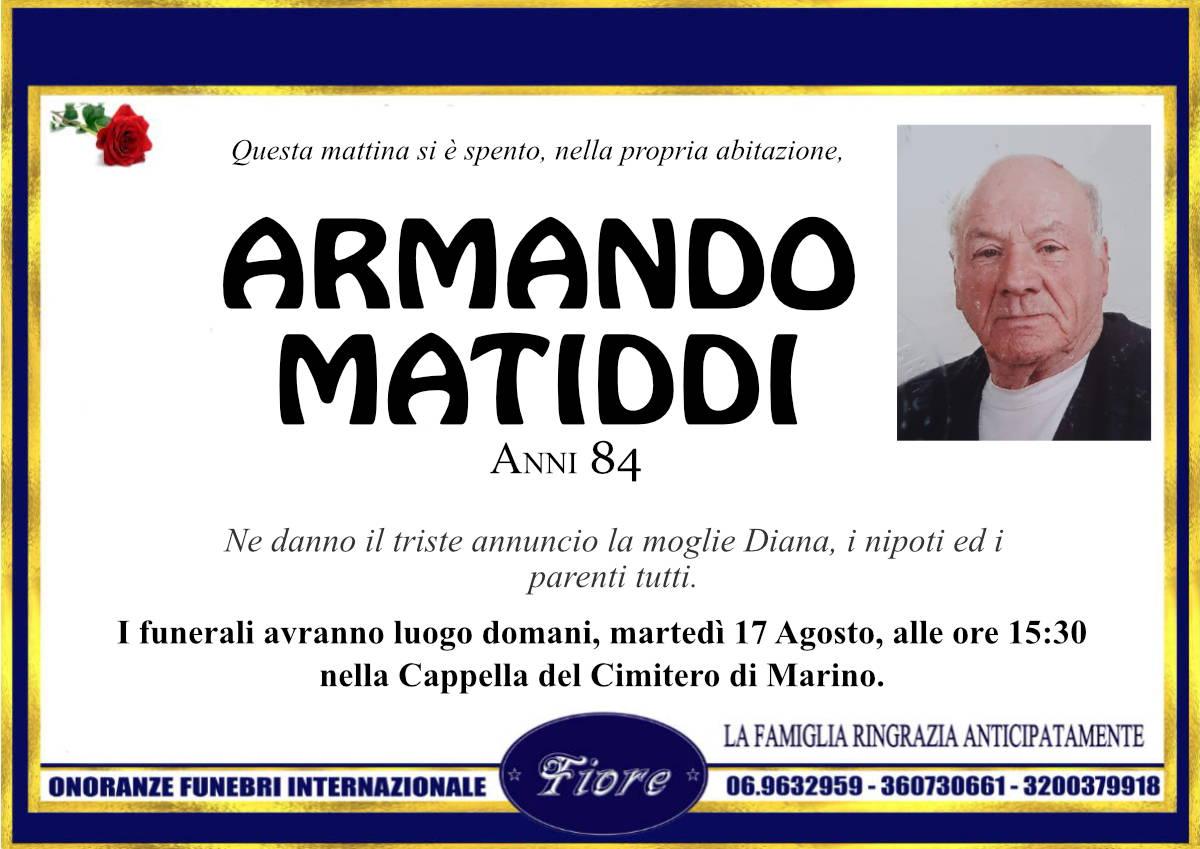 Armando Matiddi