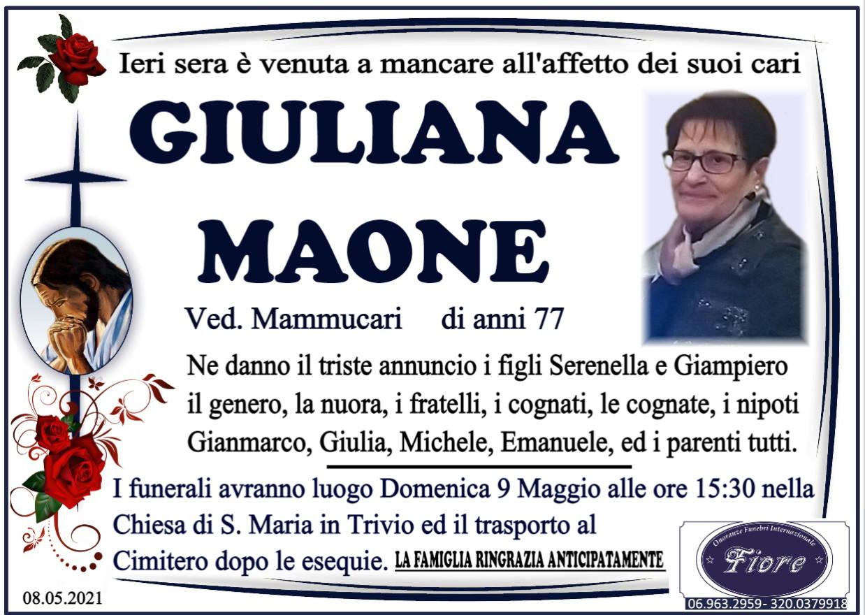 Giuliana Maone