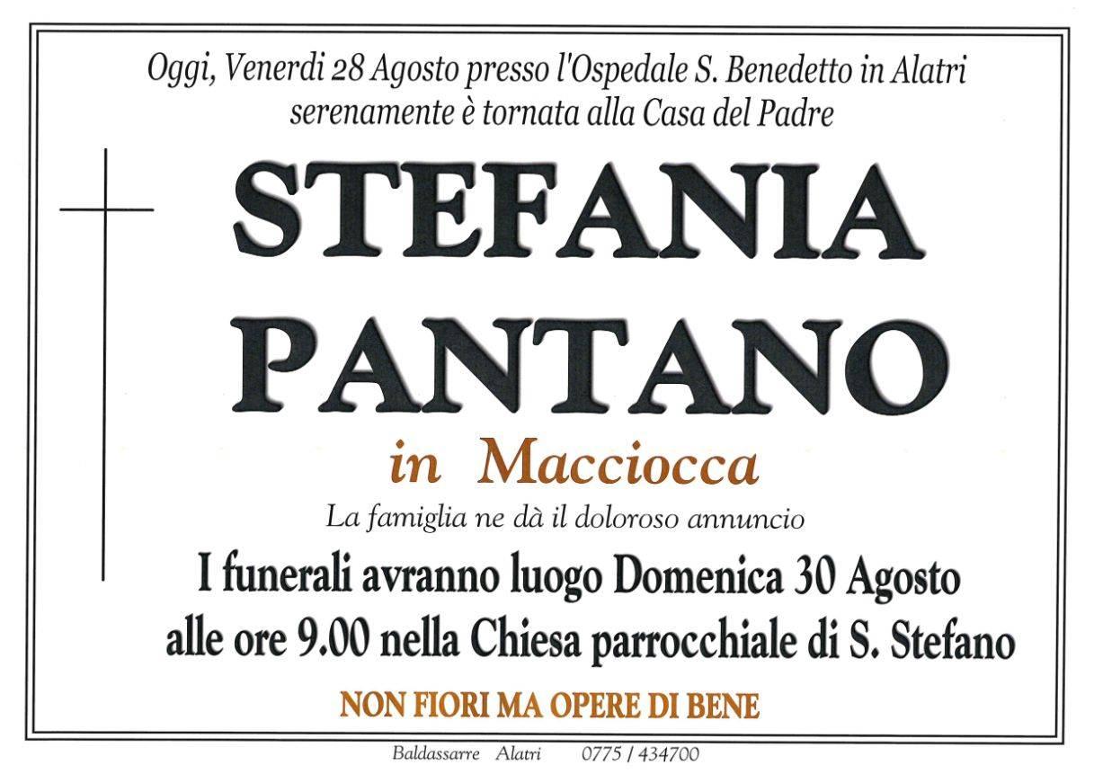 Stefania Pantano