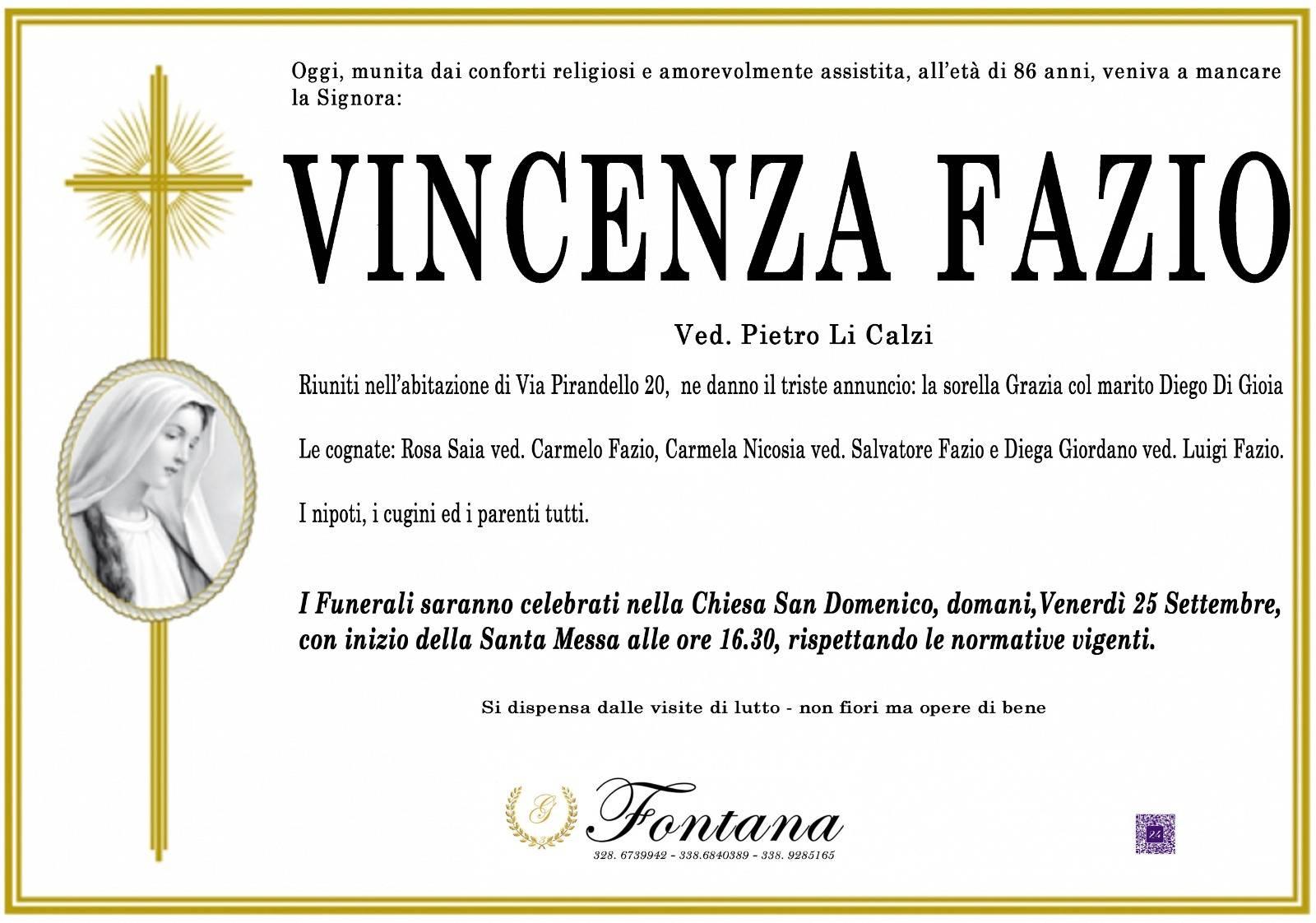 Vincenza Fazio