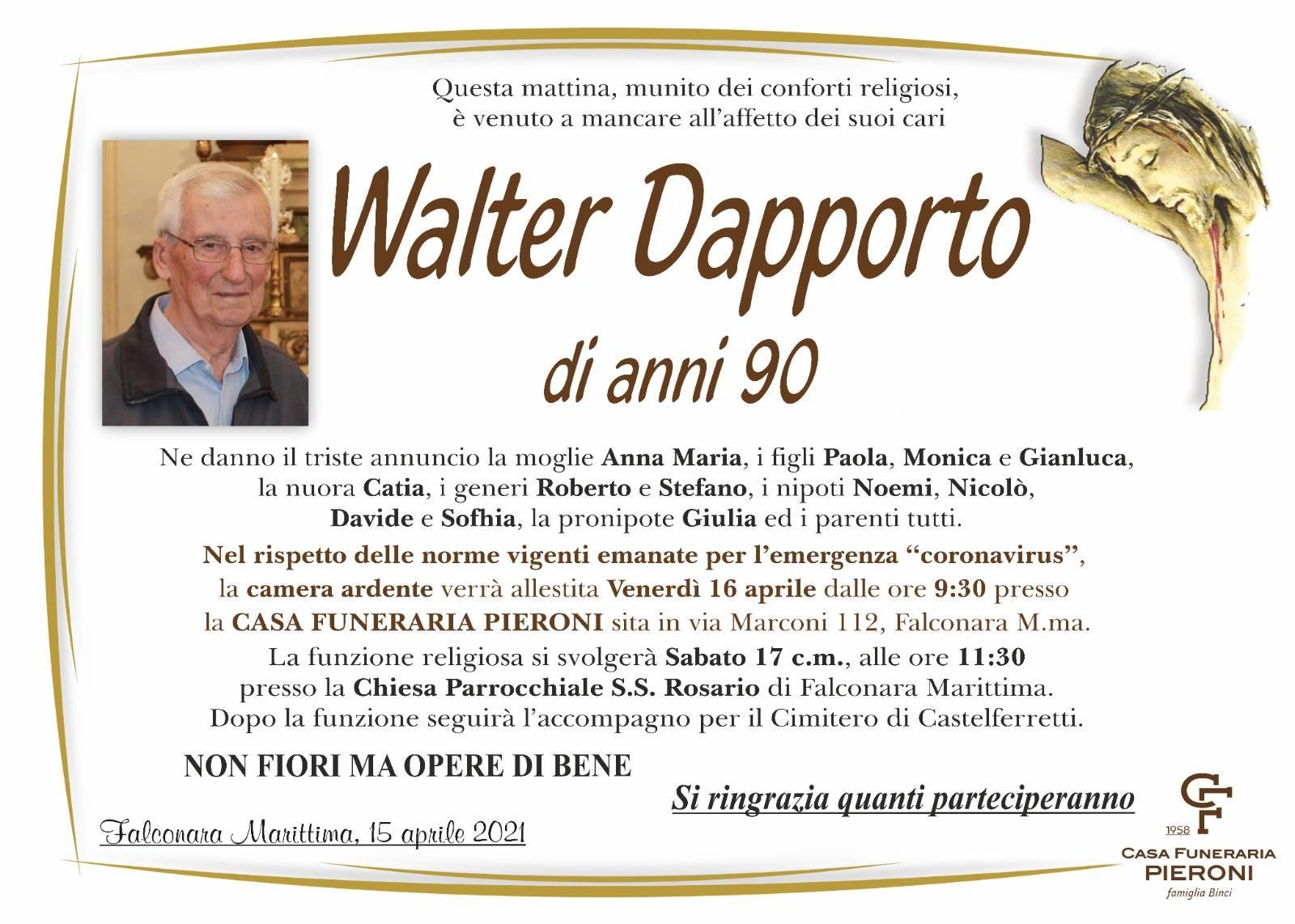 Walter Dapporto