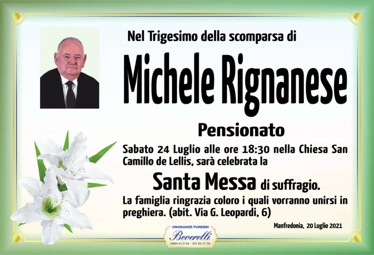 Michele Rignanese