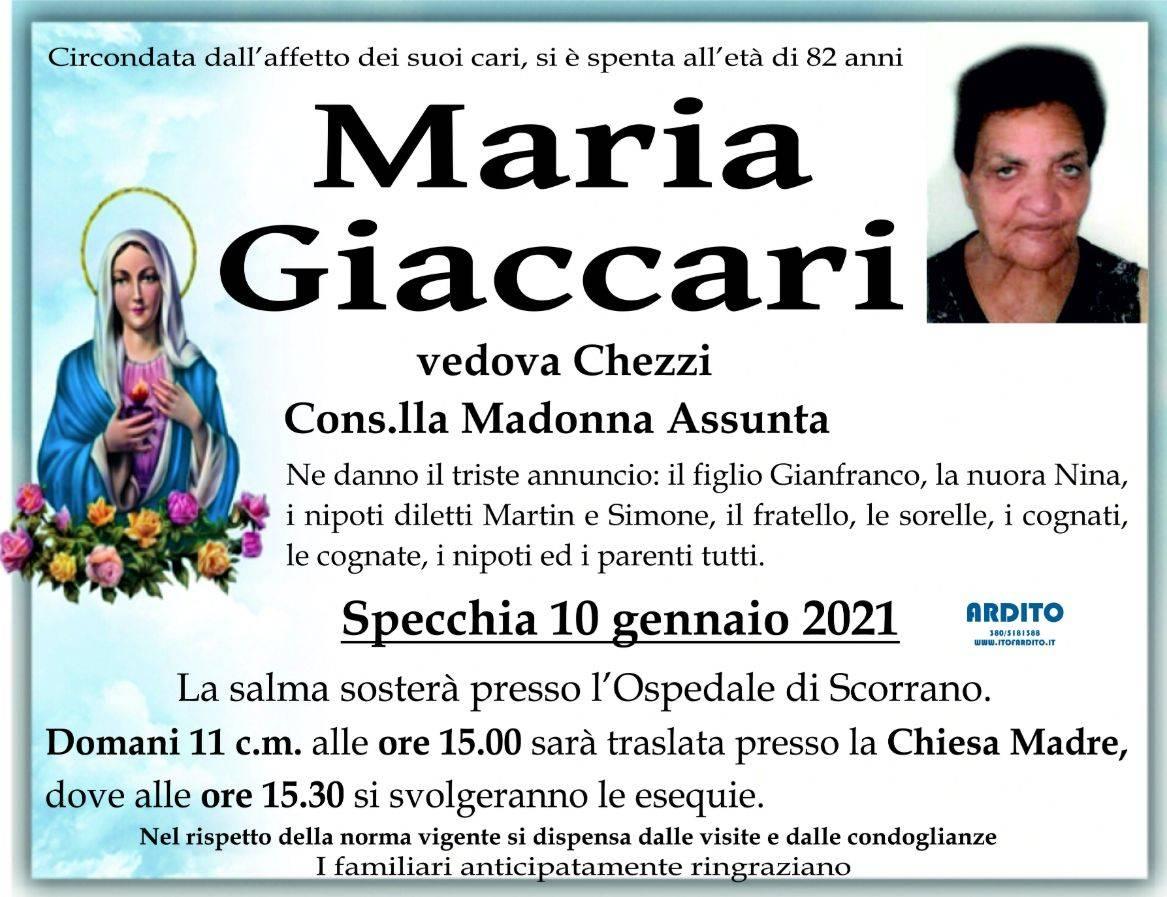 Maria Giaccari