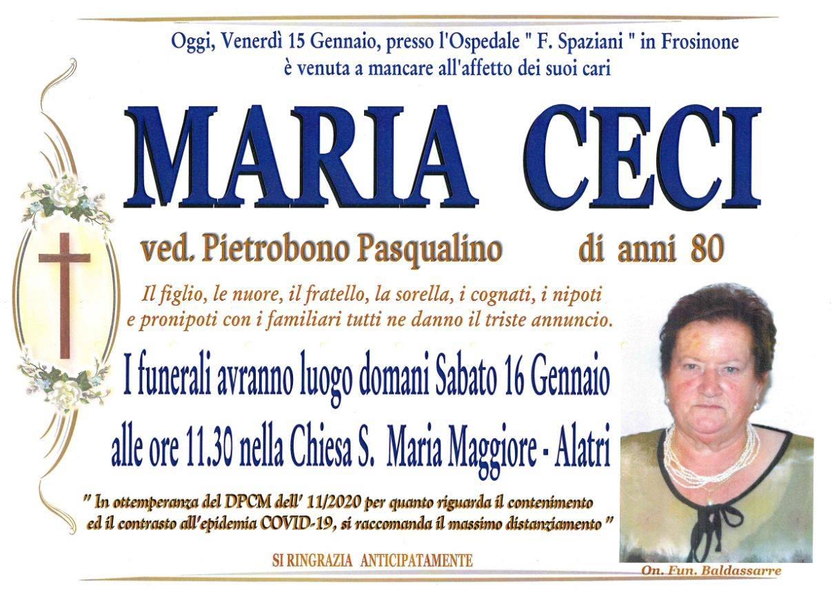 Maria Ceci