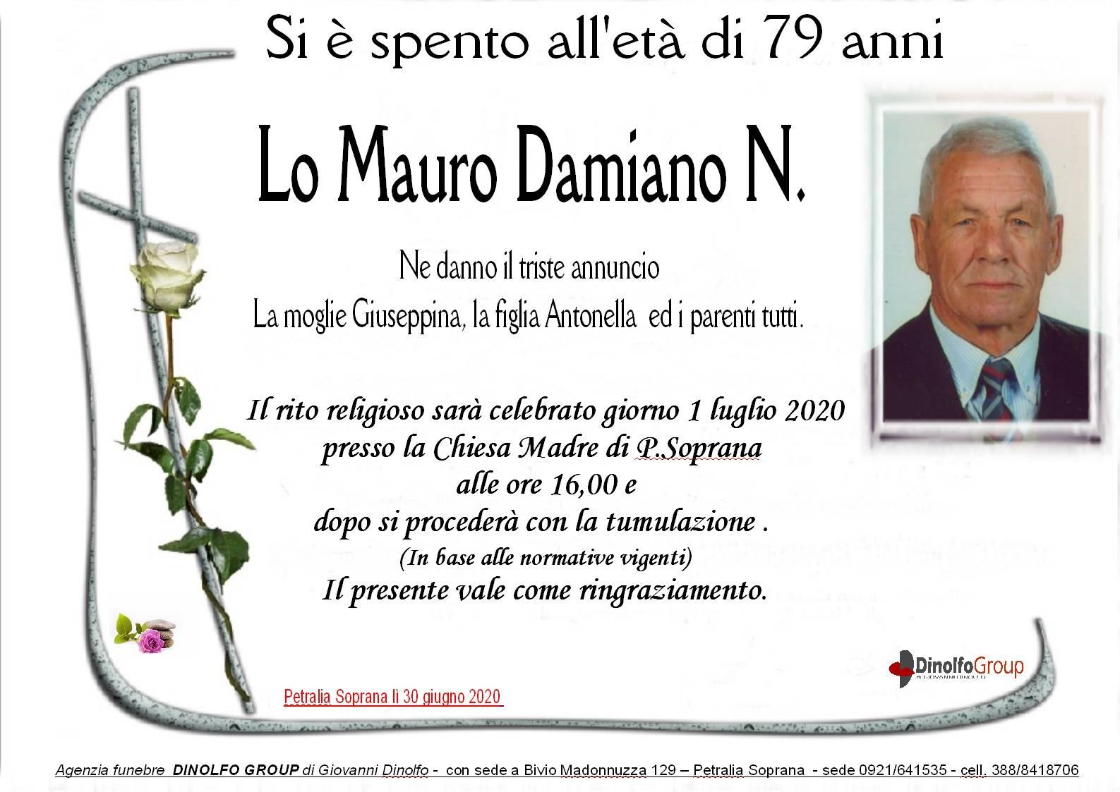 Damiano Natale Lo Mauro