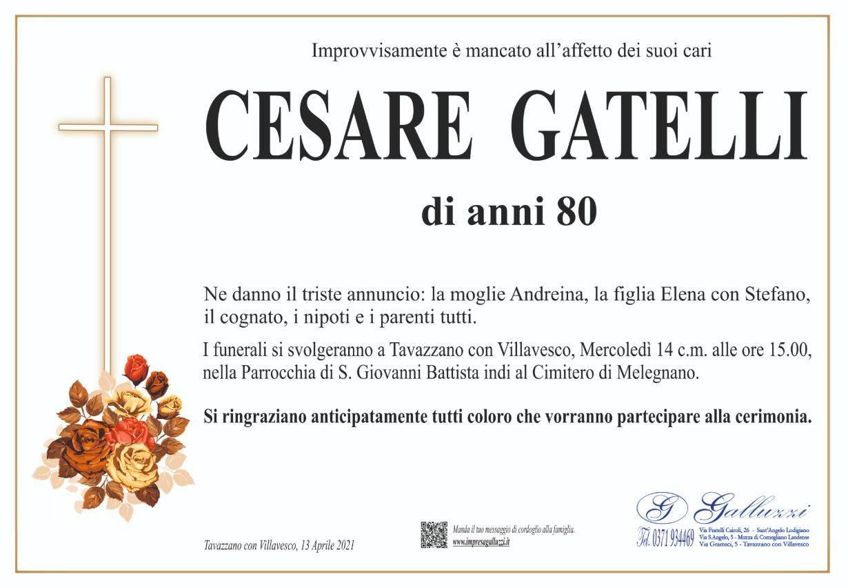 Cesare Gatelli