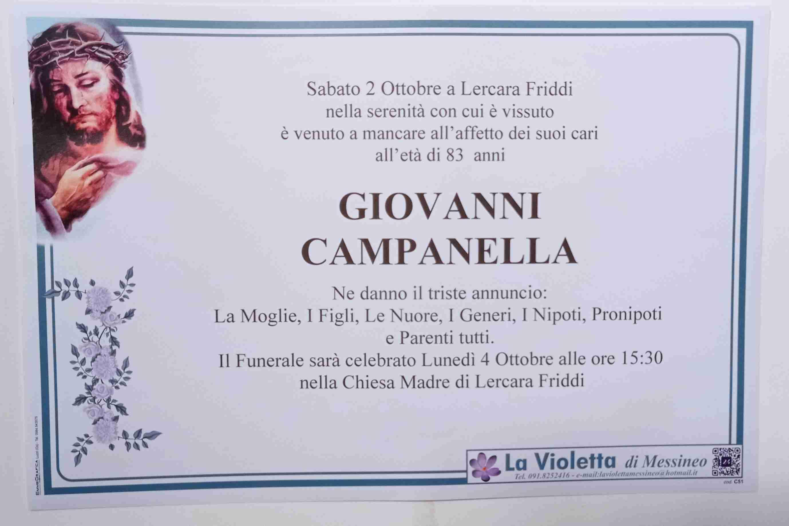 Giovanni Campanella
