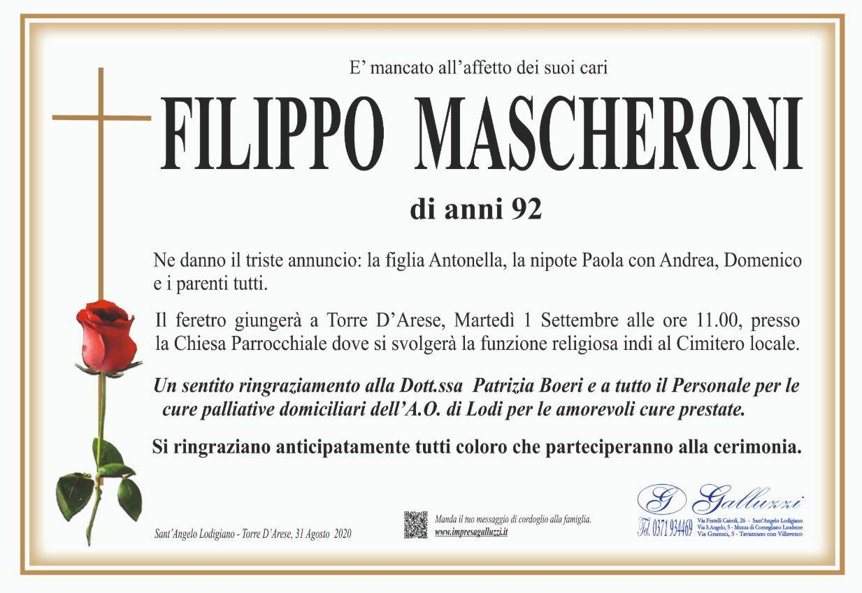 Filippo Mascheroni
