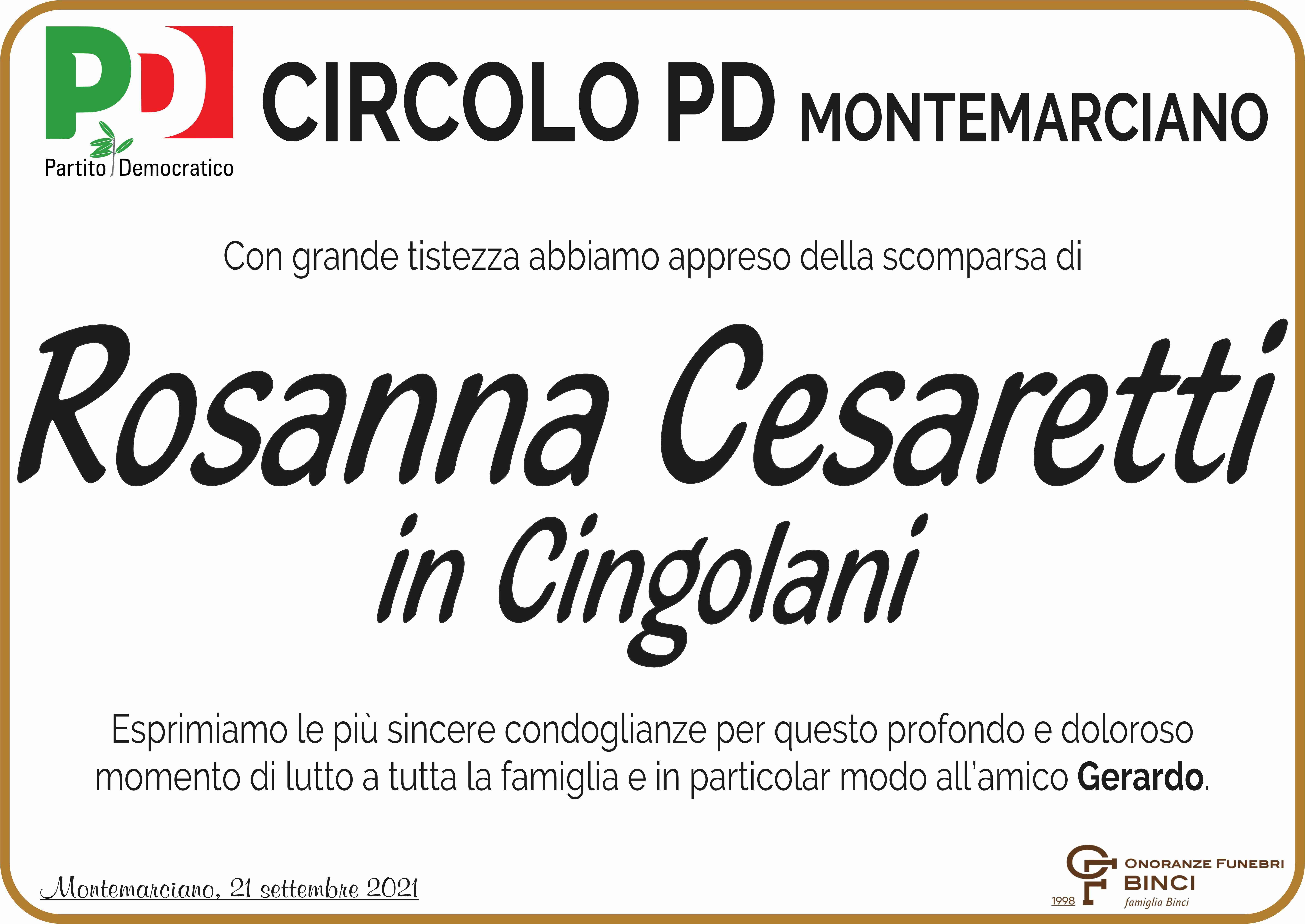 Rosanna Cesaretti