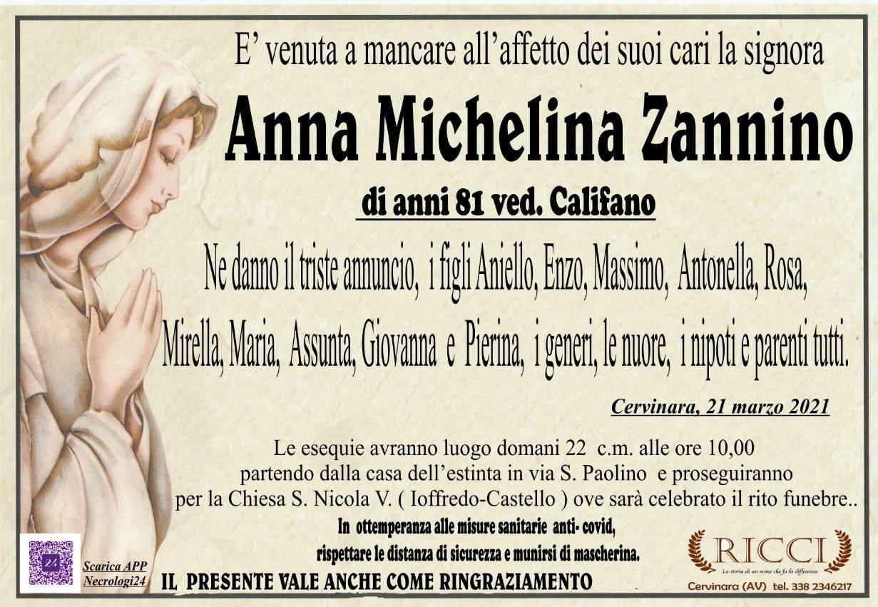 Anna Michelina Zannino