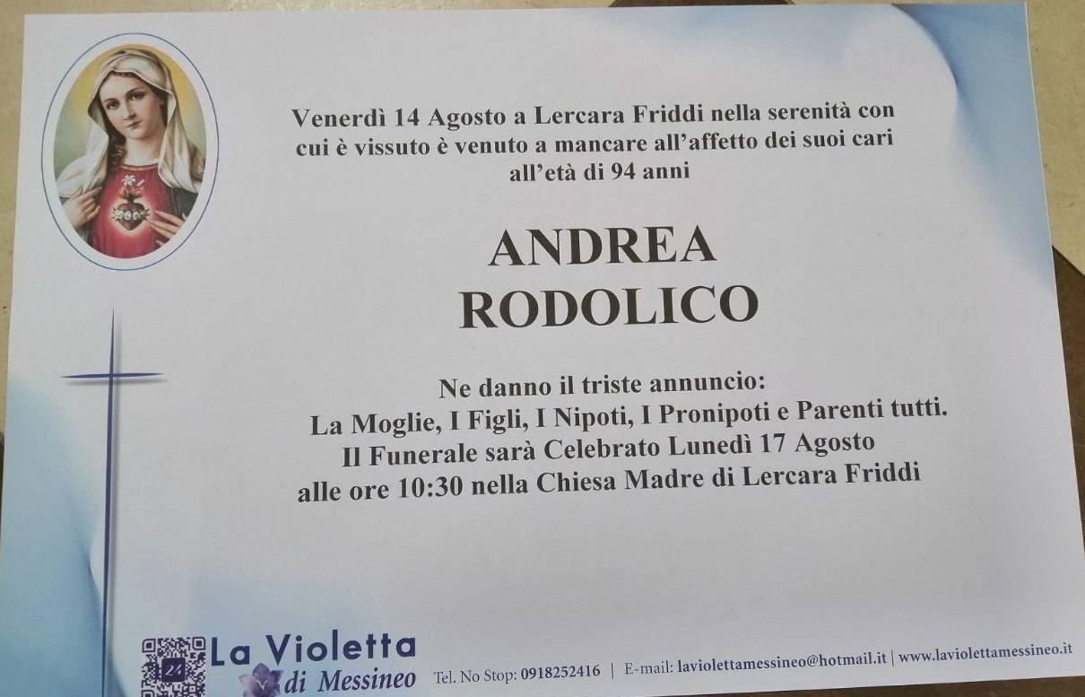 Andrea Rodolico
