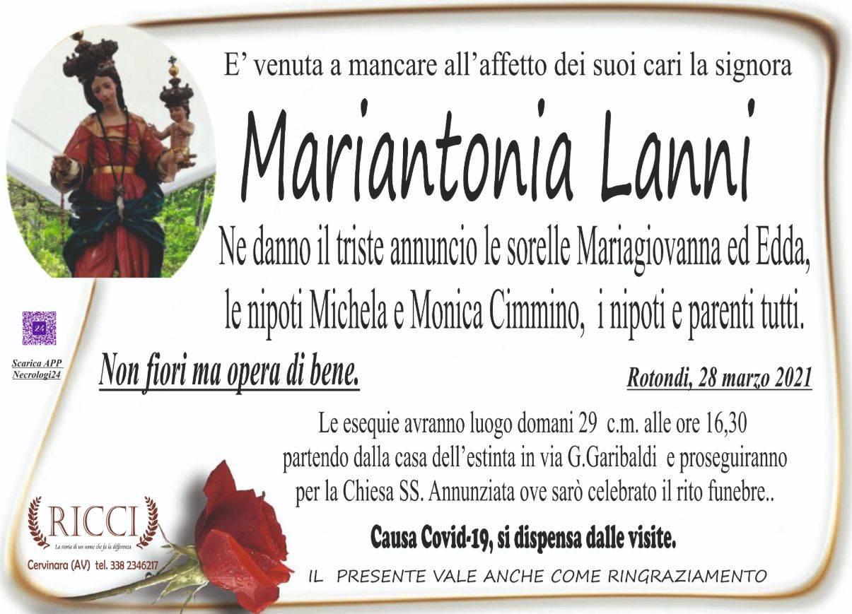 Mariantonia Lanni