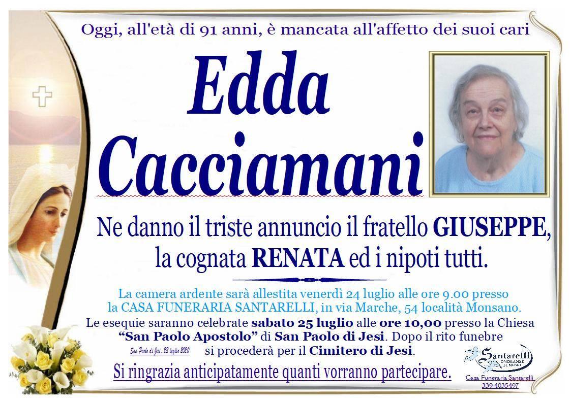 Edda Cacciamani