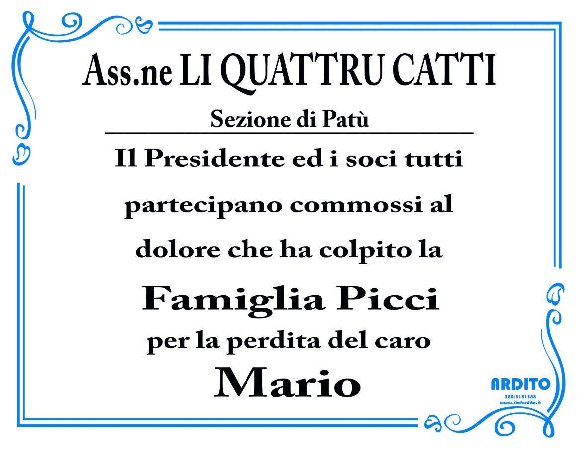"""Associazione """"Li Quattru Catti"""" - Sezione di Patù"""